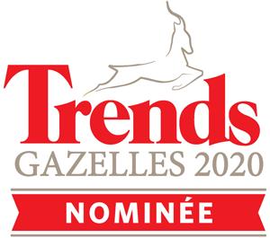 Nominé Trends Gazelles Namur 2020